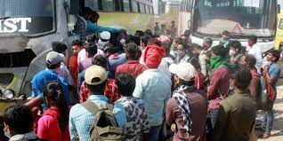 COVID: MP extends ban on bus service with Maharashtra till June 30- The New  Indian Express